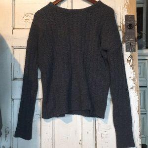 Cozy gray GAP oversized sweater